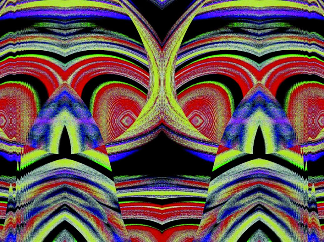 Digital verfremdete Fotografie Summus Vibrationes von Jürgen Rink