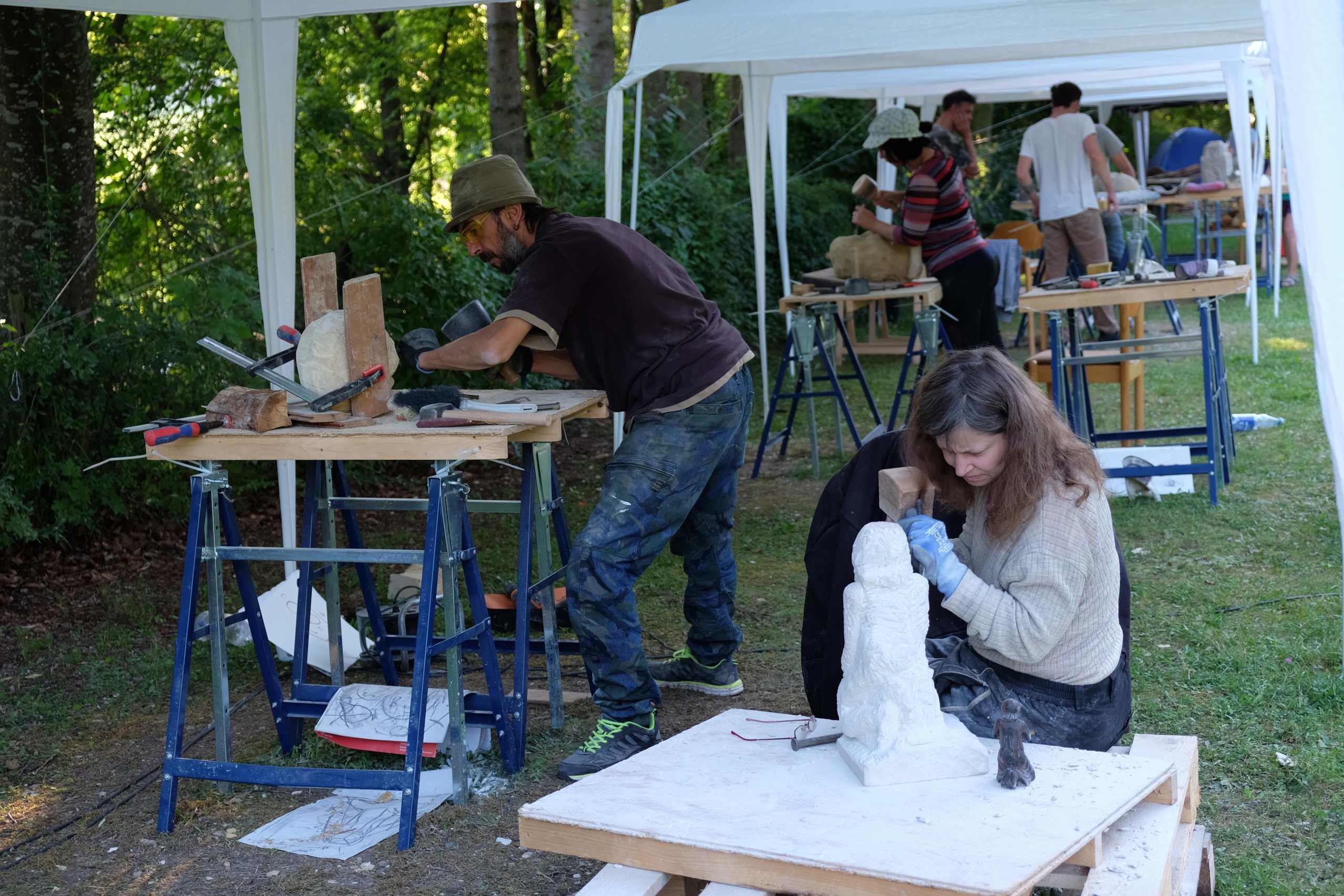 Trott-art Workcamp in Fleinheim