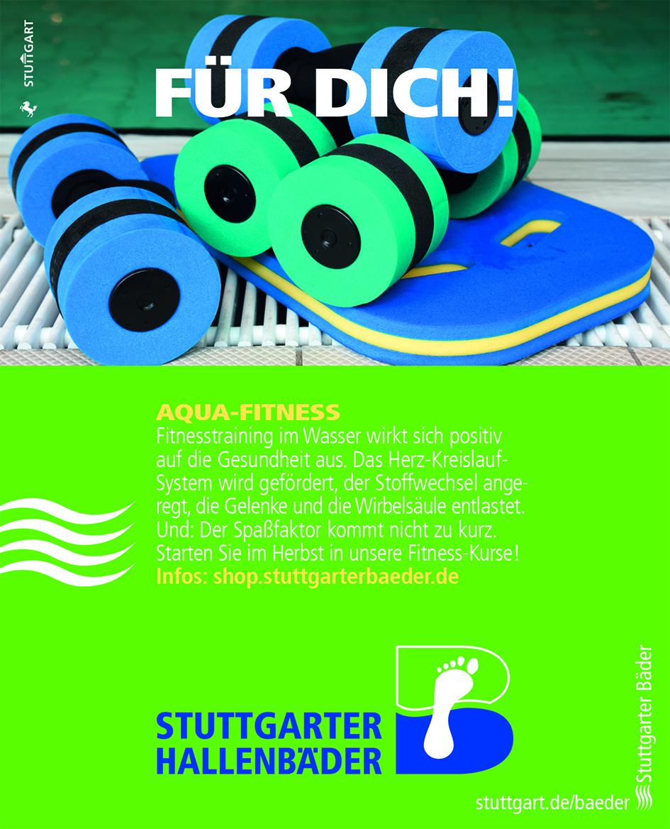 Anzeige Bäderbetriebe Stuttgart