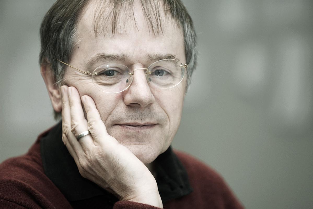 Porträt Mann mit Brille