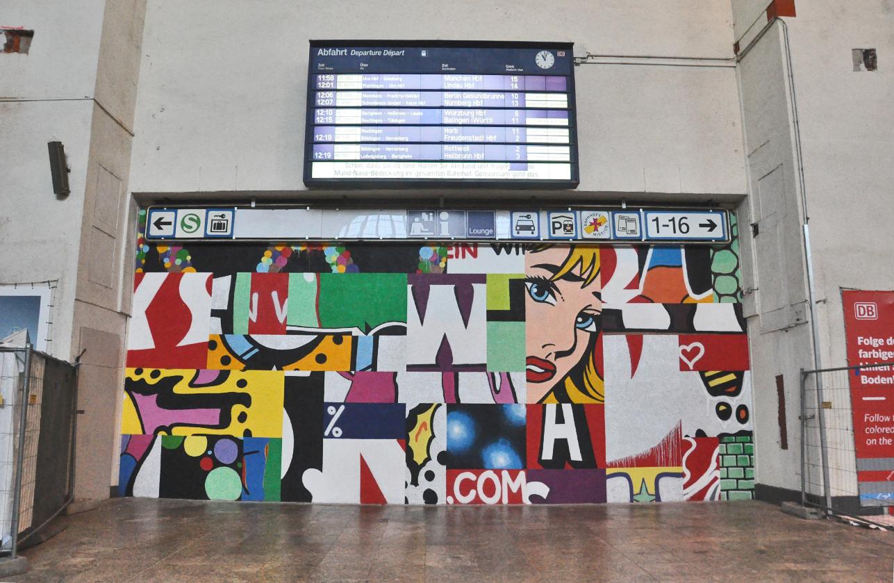 buntes Graffiti
