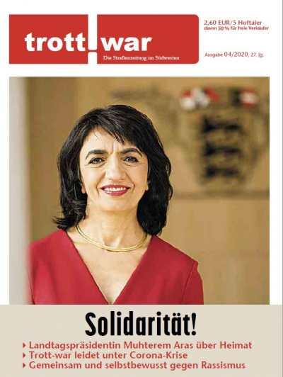 Titelblatt April 2020 mit Muthterem Aras