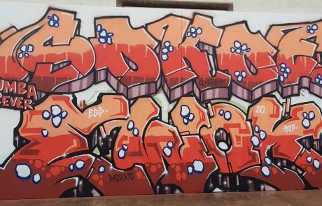 Graffiti am Stuttgarter Hauptbahnhof - SOKOE und EWOK - Secret Walls Gallery