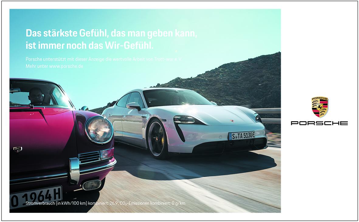 Anzeige Porsche