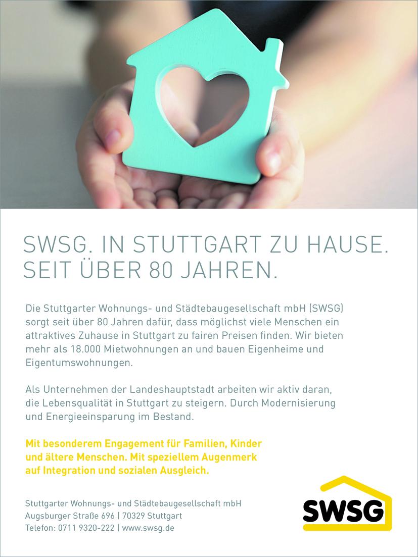 Anzeige SWSG