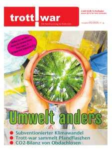 Titelbild der aktuellen Trott-war-Ausgabe