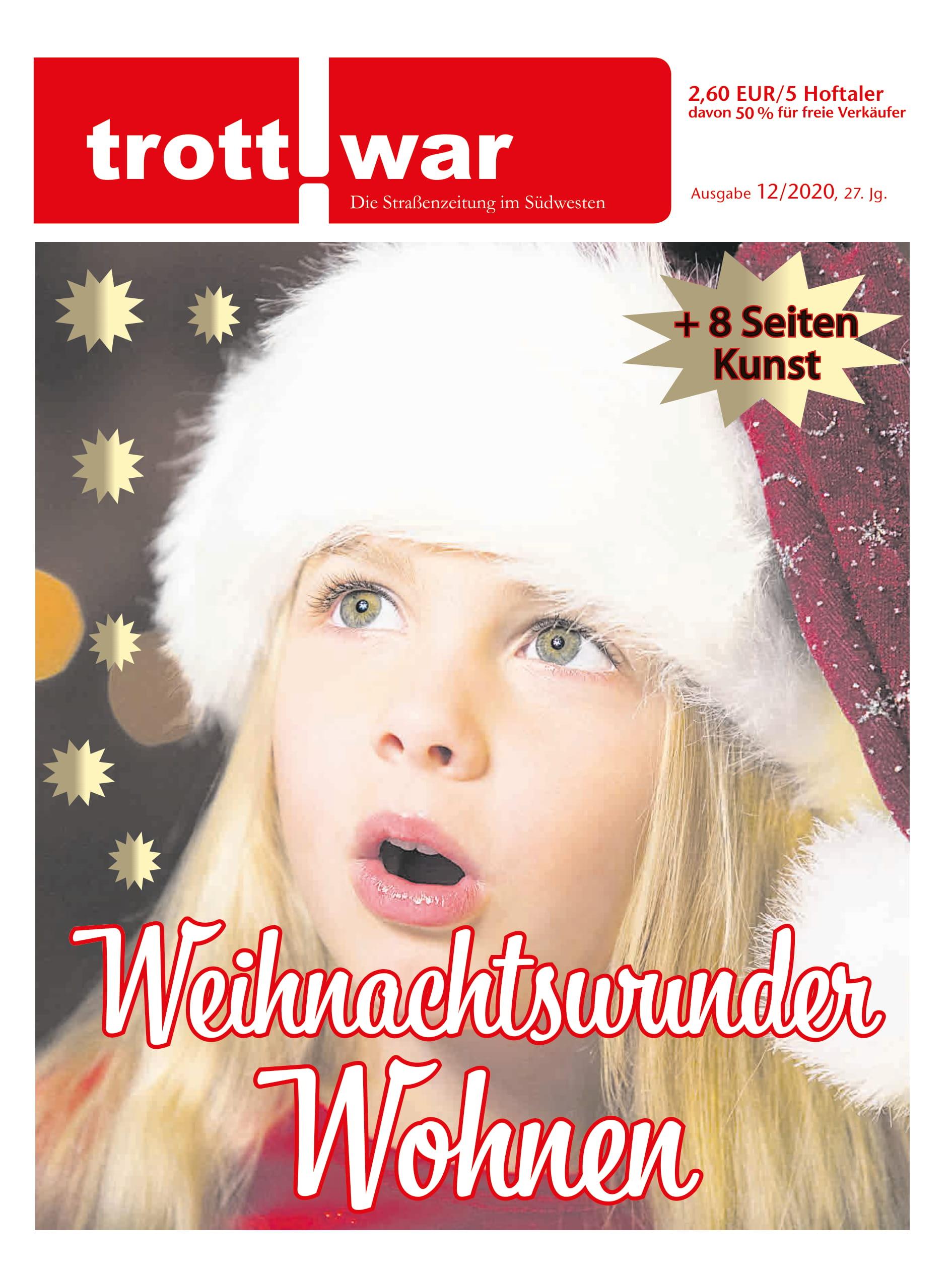 Titelbild der Januar-Ausgabe